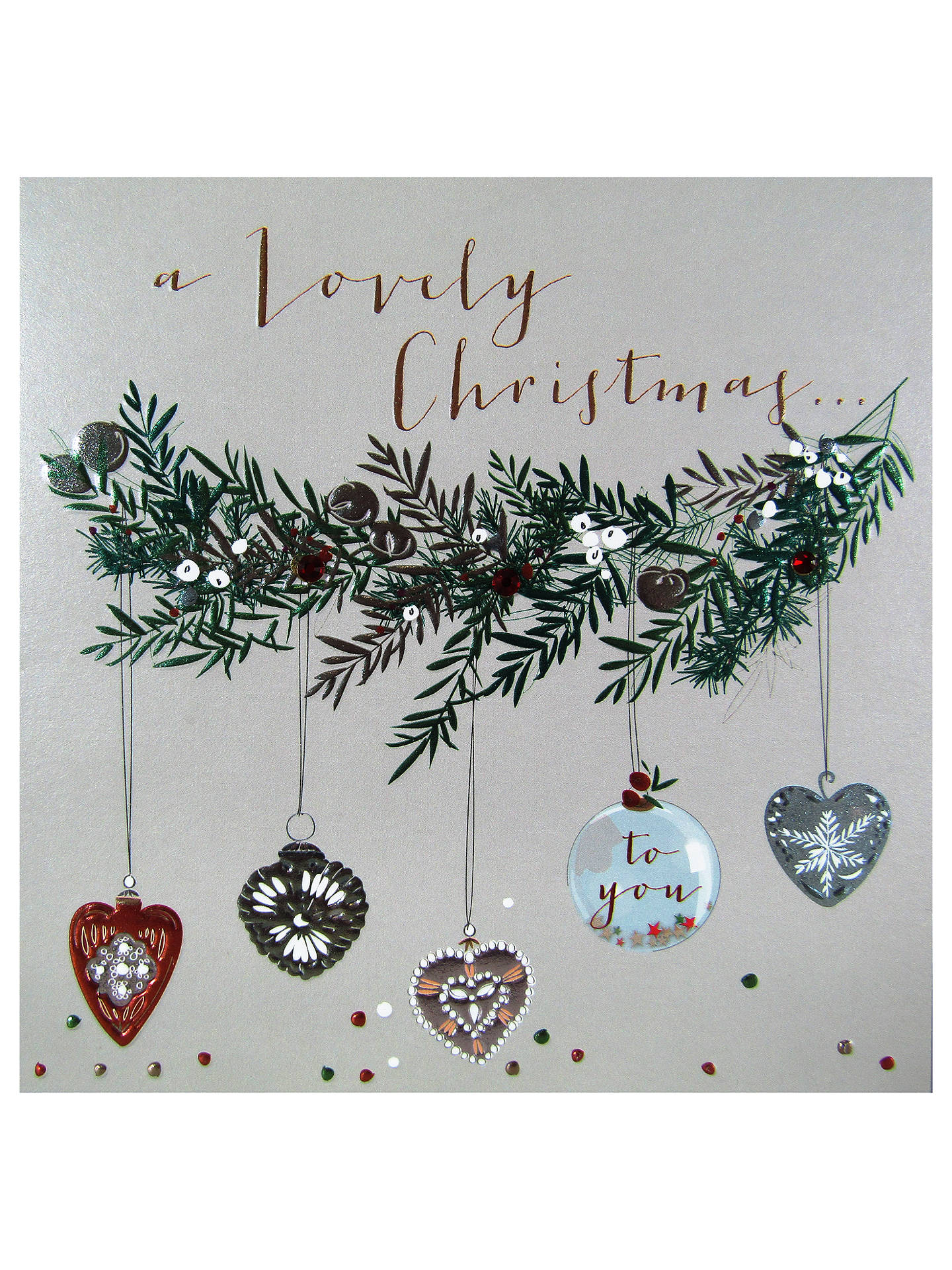 Belly Button Designs A Lovely Christmas Card at John Lewis & Partners