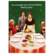 Buy Cath Tate Boxing Day Christmas Card Online at johnlewis.com