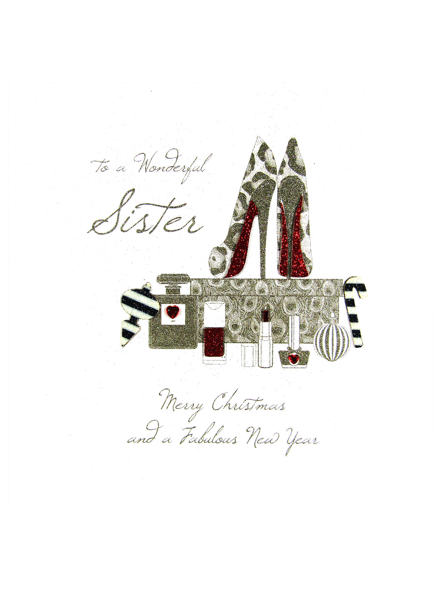 buyfive dollar shake wonderful sister christmas card online at johnlewiscom