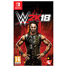 Buy WWE 2K18, Switch Online at johnlewis.com