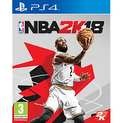 Image of NBA 2K18, PS4