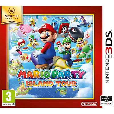 Mario Party Island Tour, 3DS