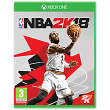 Buy NBA 2K18, Xbox One Online at johnlewis.com