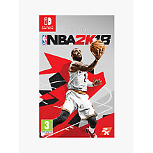 Buy NBA 2K18, Switch Online at johnlewis.com