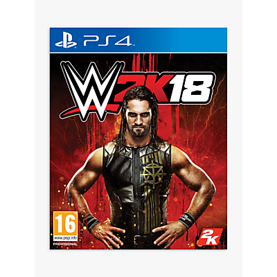 Image of WWE 2K18, PS4