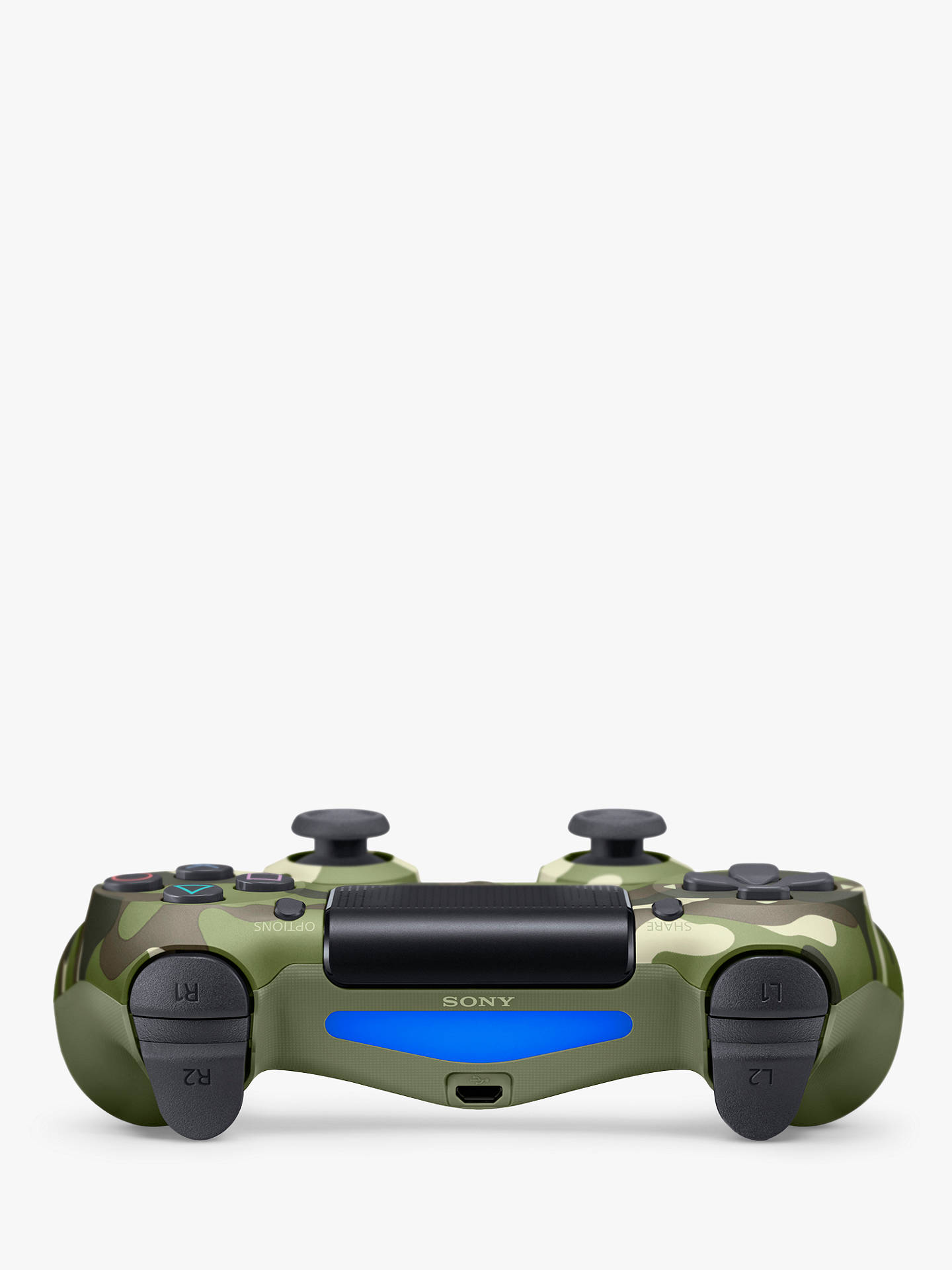 Buy PS4 DualShock 4 Wireless Controller, Camouflage Online at johnlewis.com
