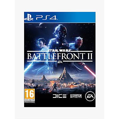 Image of Star Wars Battlefront 2, PS4