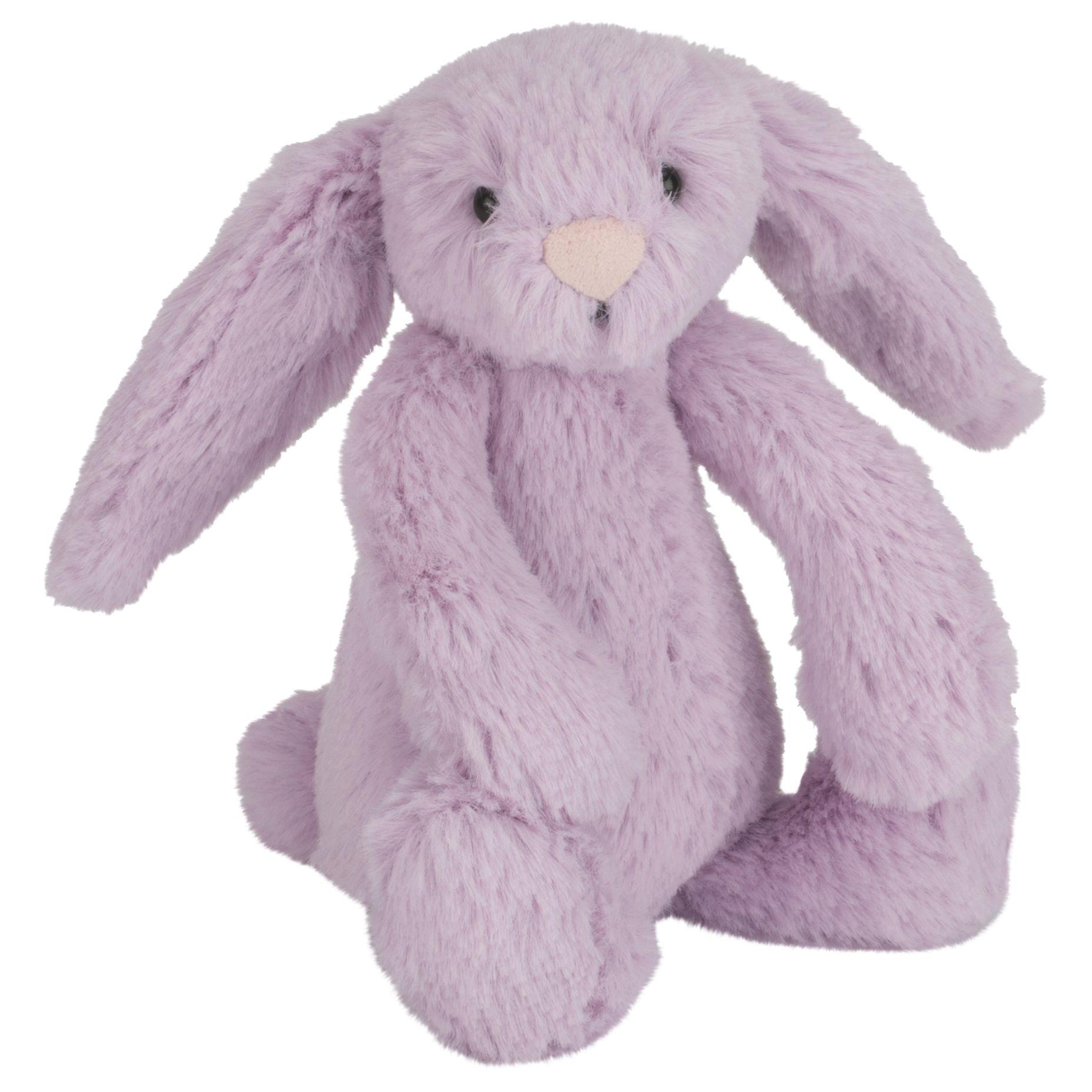 Jellycat Jellycat Bashful Bunny Soft Toy, Baby, Purple