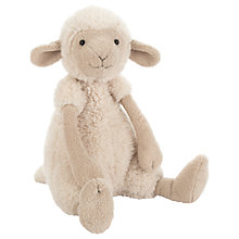 Buy Jellycat Woolly Sheep Soft Toy, Medium, Cream Online at johnlewis.com