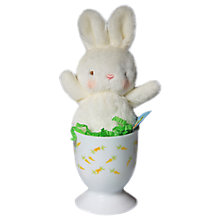 Buy Deva Designs Mini Rabbit In Melamine Egg Online at johnlewis.com