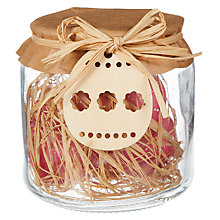 Party decorations easter toys gifts john lewis buy john lewis mini egg candles in a jar decoration online at johnlewis negle Choice Image