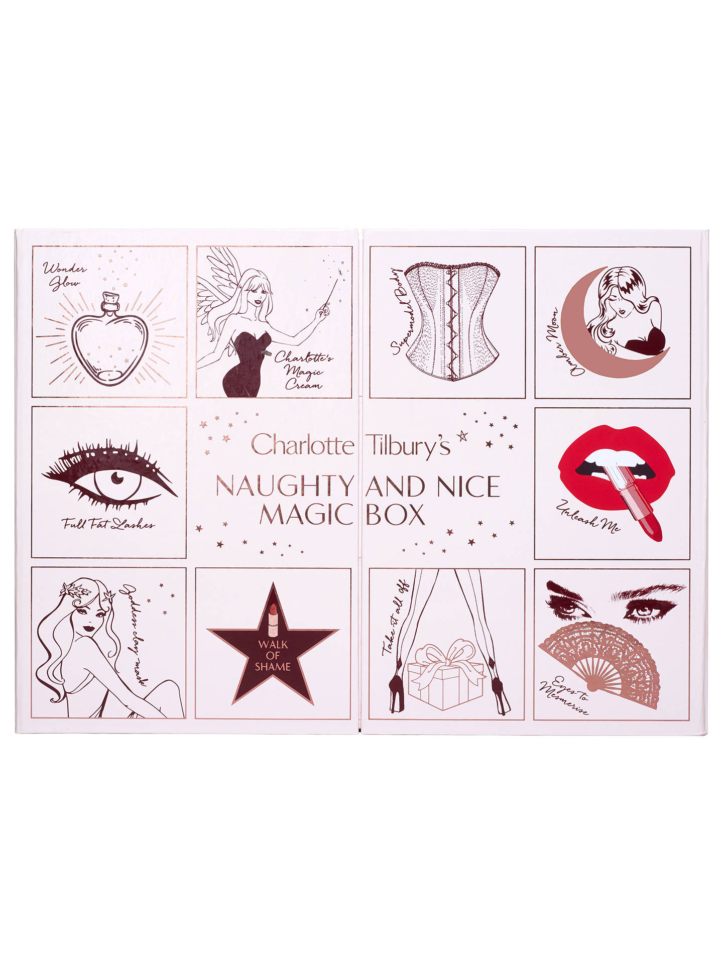 BuyCharlotte Tilbury 'Naughty & Nice Magic Box' Beauty Advent Calendar Online at johnlewis.com