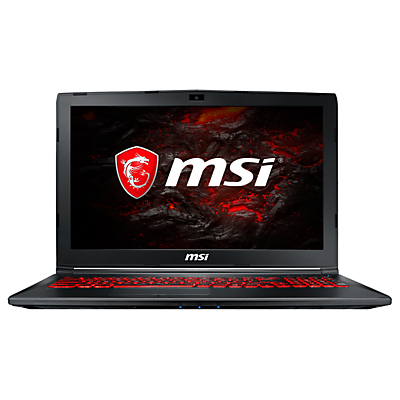 Image of MSI GL62M 7RDX Gaming Laptop, Intel Core i5, 8GB RAM, NVIDIA GTX 1050, 1TB HDD, 15.6 Full HD, Black
