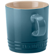 Buy NEW Le Creuset Stoneware Mug, 350ml, Marine Online at johnlewis.com