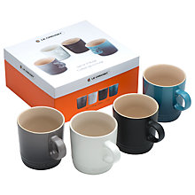 Buy Le Creuset Stoneware Mugs, Taste of the City, Set of 4 Online at johnlewis.com