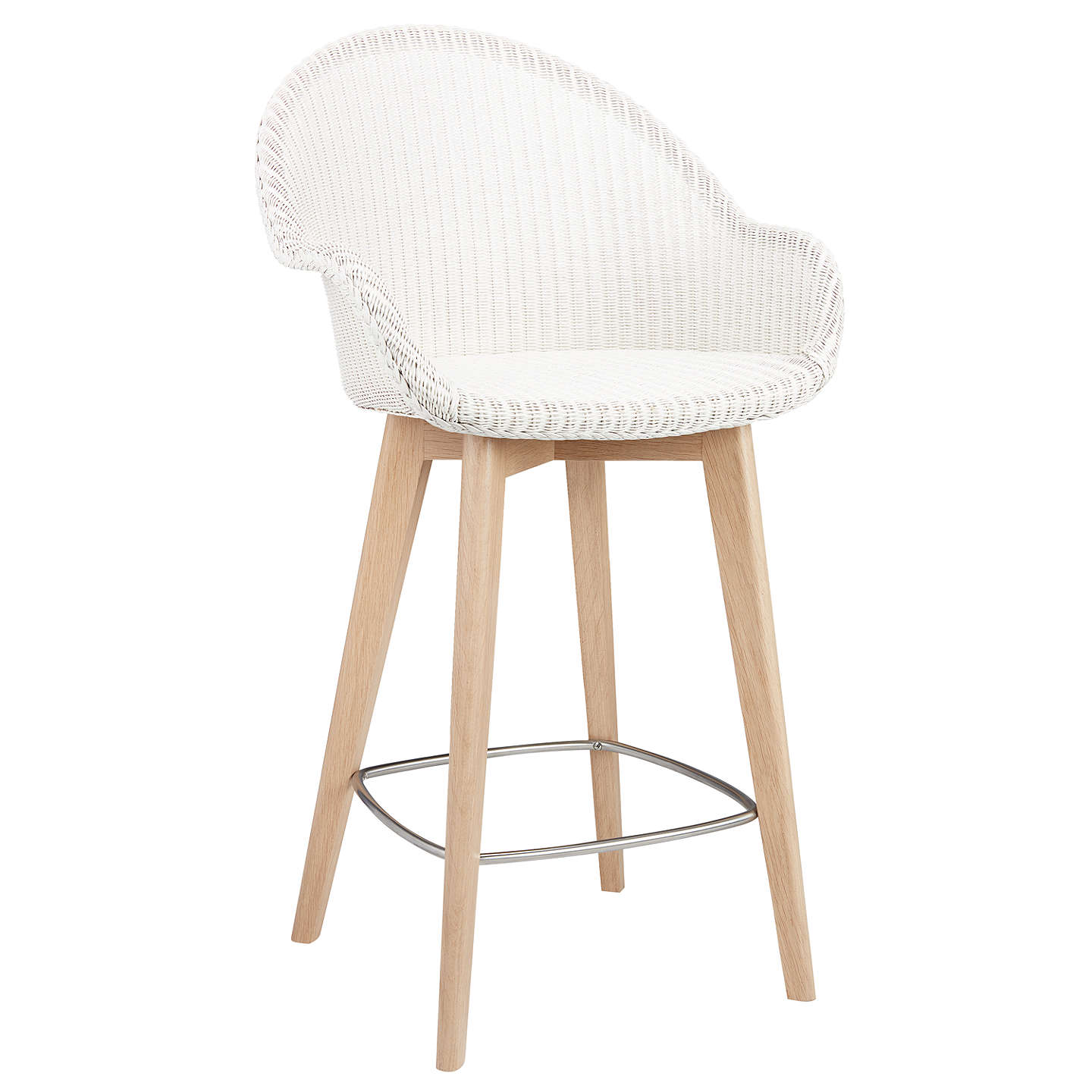 Kitchen Stools At John Lewis: Croft Collection Easdale Lloyd Loom Bar Chair At John Lewis