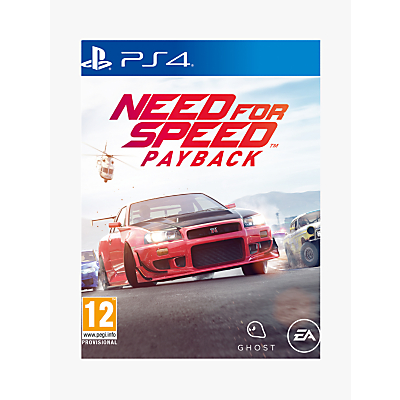 Image of Need for Speed Payback, PS4