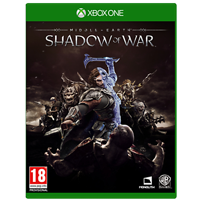 Image of Middle-Earth: Shadow of War, Xbox One