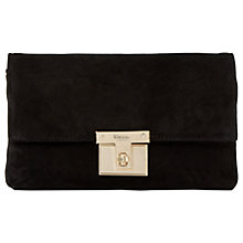 Buy Dune Birchin Clutch Bag, Black Online at johnlewis.com