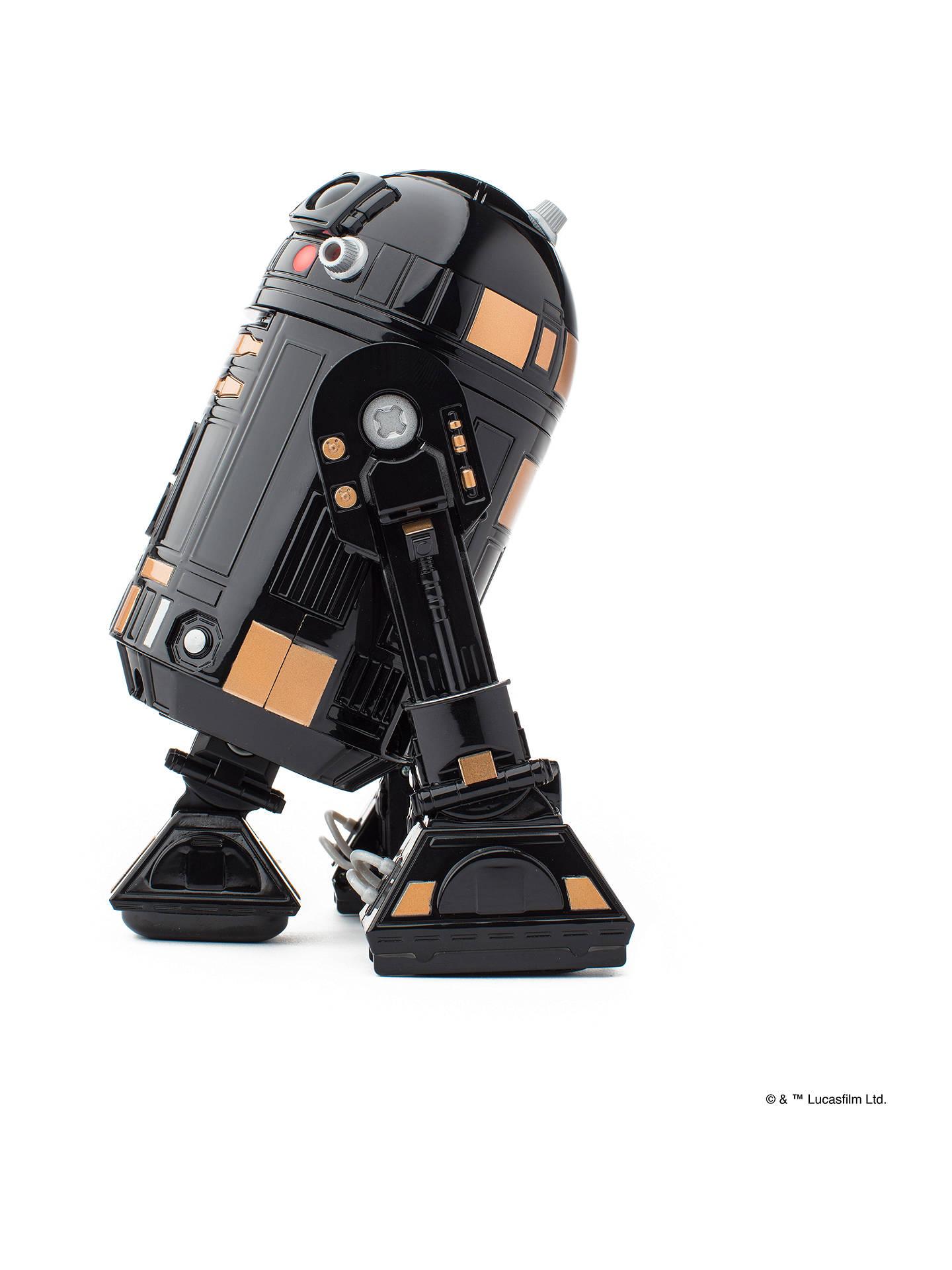 Sphero R201QRW R2-Q5 App-Enabled Droid Black