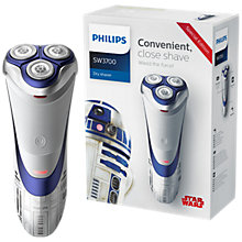 Buy Philips SW3700/07 Star Wars Special Edition R2-D2 Men's Electric Shaver Online at johnlewis.com
