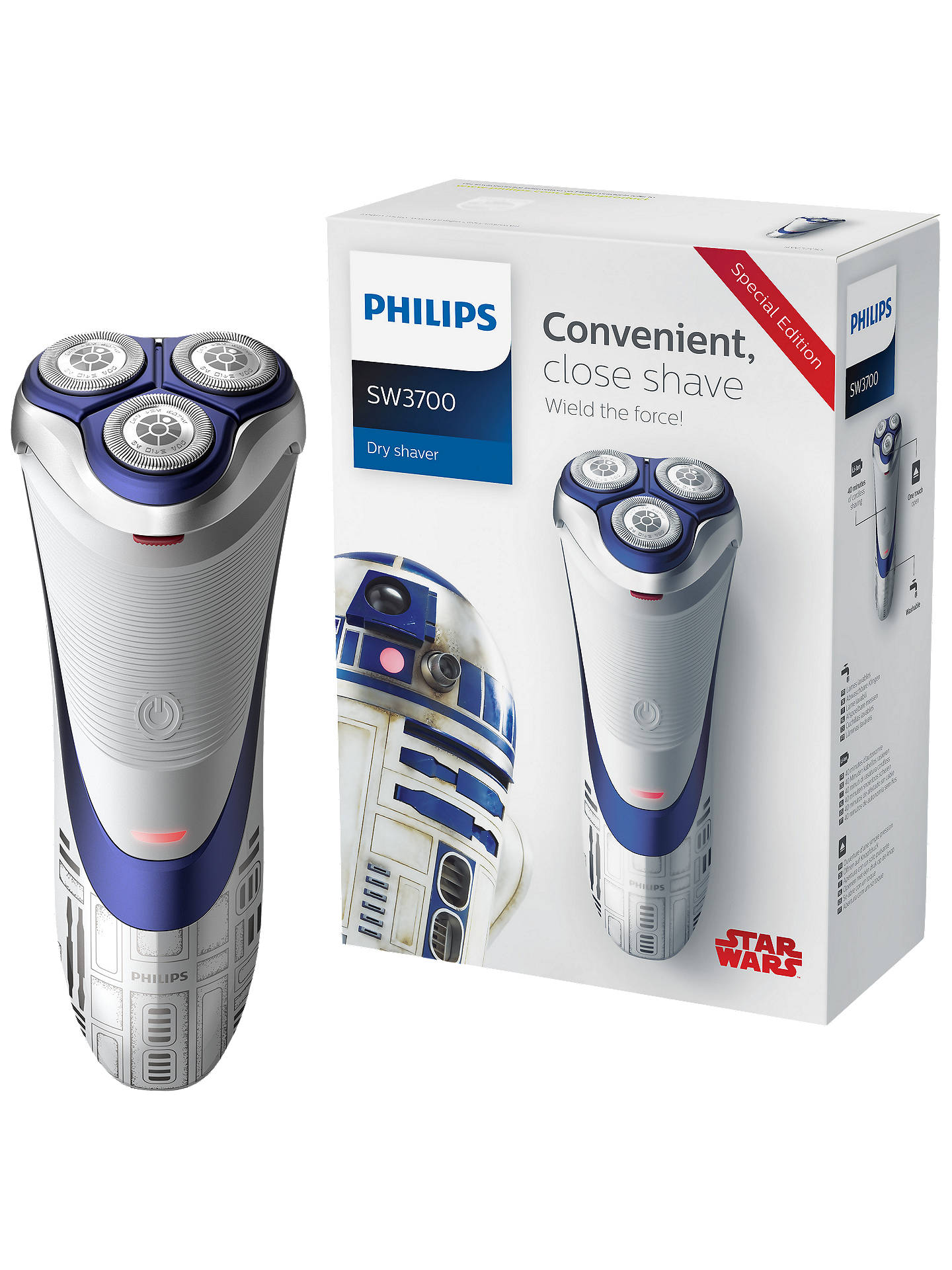 Philips SW3700/07 Star Wars Special Edition R2-D2 Men\'s Electric ...