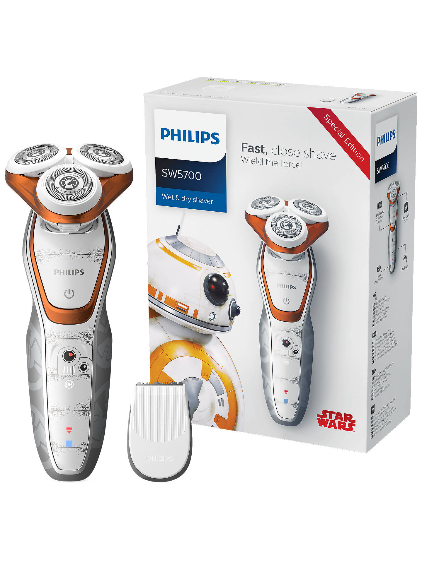 Philips SW5700/07 Star Wars Special Edition BB-8 Men\'s Electric ...