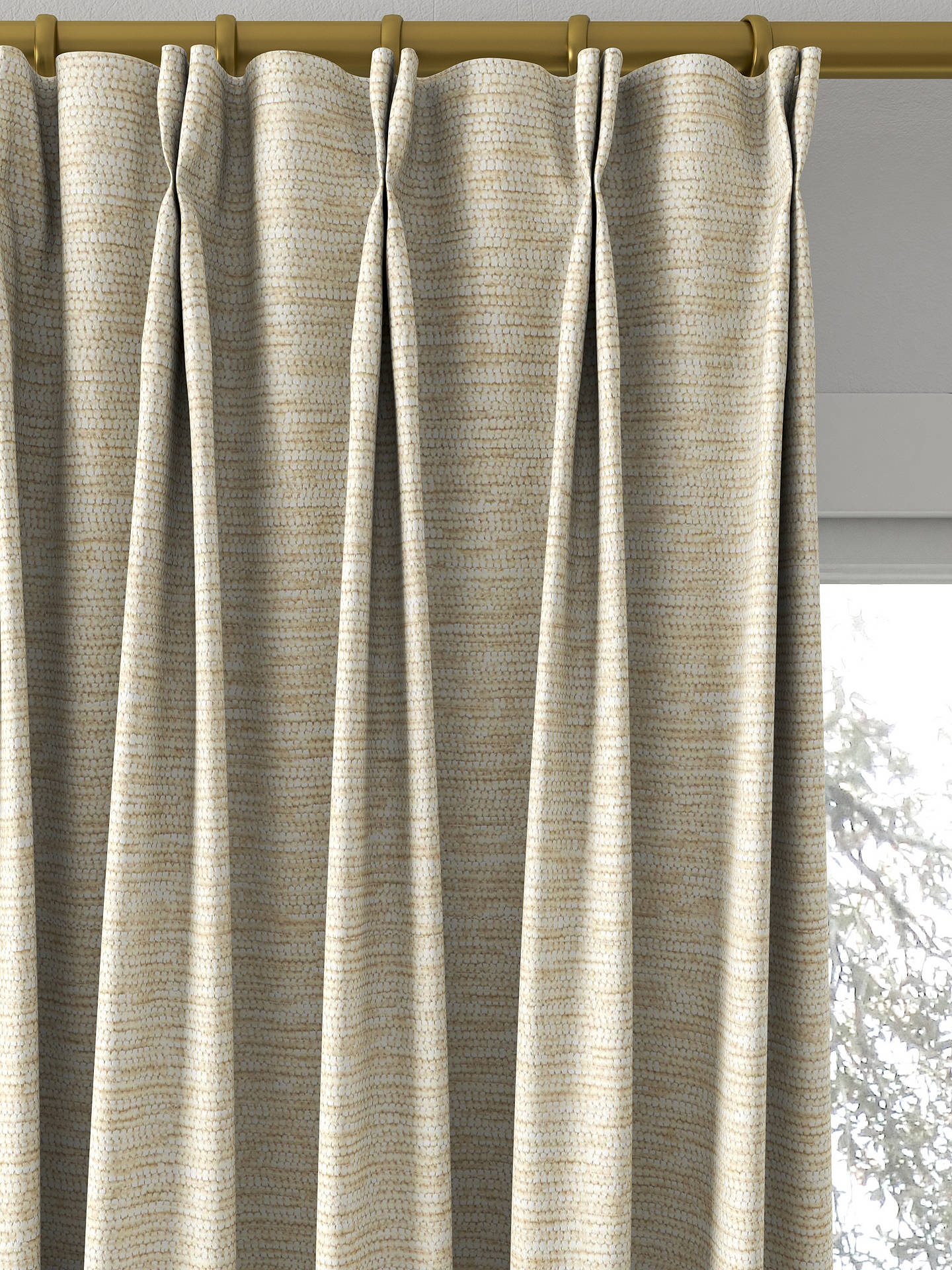 Buy john lewis partners zambia made to measure curtains natural online at johnlewis