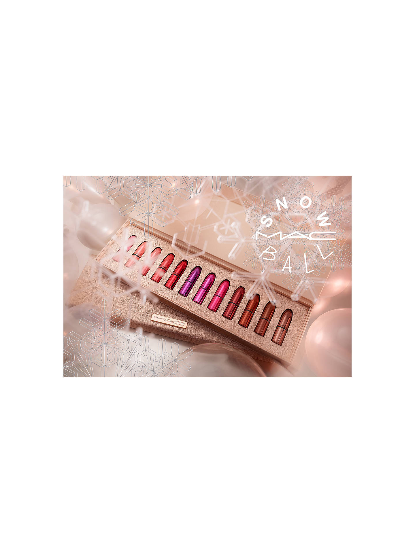 BuyMAC Snow Ball Mini Lipstick Kit - MAC Classics Online at johnlewis.com