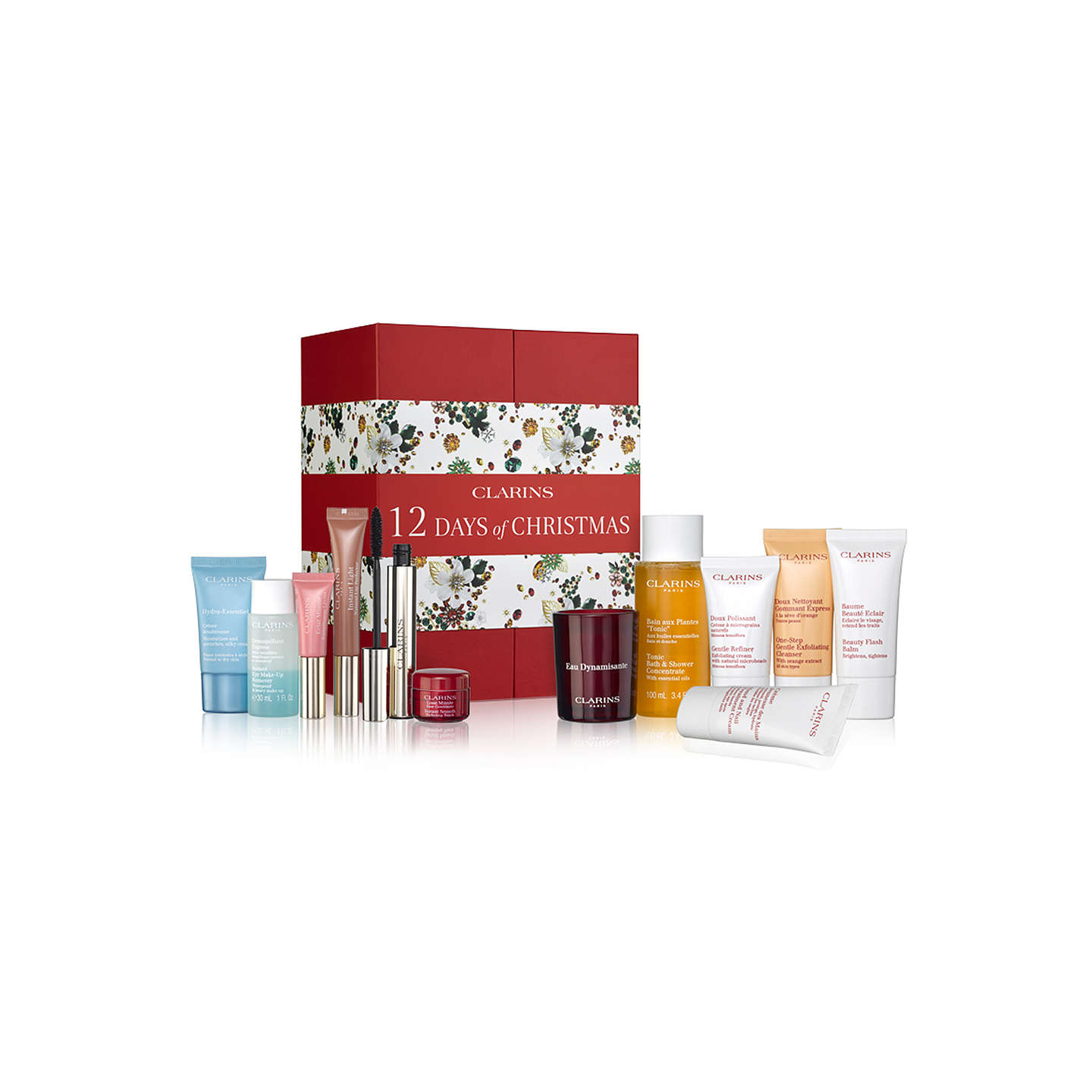 BuyClarins 12 Days of Christmas Advent Calendar Online at johnlewis.com