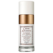 Buy Fresh Crème Ancienne Supreme Eye Serum, 15ml Online at johnlewis.com