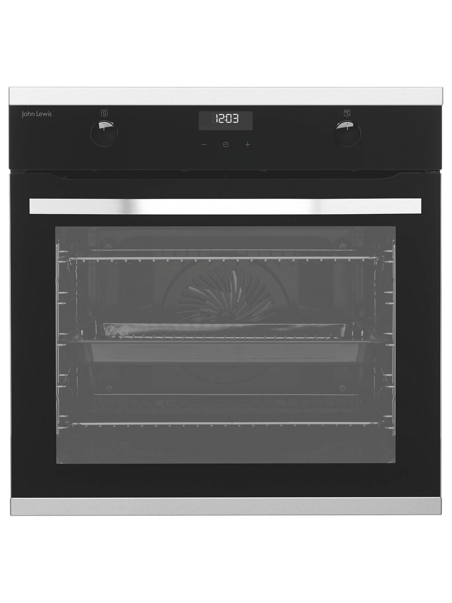 john lewis partners jlbios631 single multifunction oven. Black Bedroom Furniture Sets. Home Design Ideas