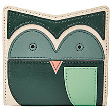Buy Fossil Emma Leather Mini Purse, Owl Vanilla Online at johnlewis.com