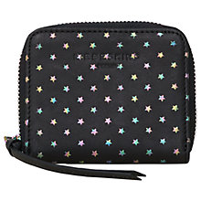 Buy Liebeskind Conny Dot W7 Small Leather Purse, Oil Black Stars Online at johnlewis.com