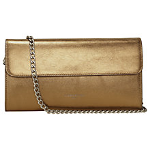 Buy Liebeskind Maria W7 Metallic Mil Clutch Purse, Sioux Beige Online at johnlewis.com