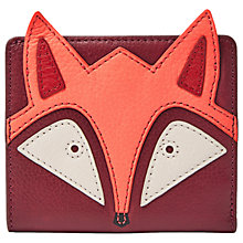 Buy Fossil Emma Leather Mini Purse, Fox Cabernet Online at johnlewis.com
