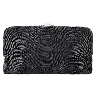 Adrianna Papell Bugle Slim Envelope Clutch Bag, Black