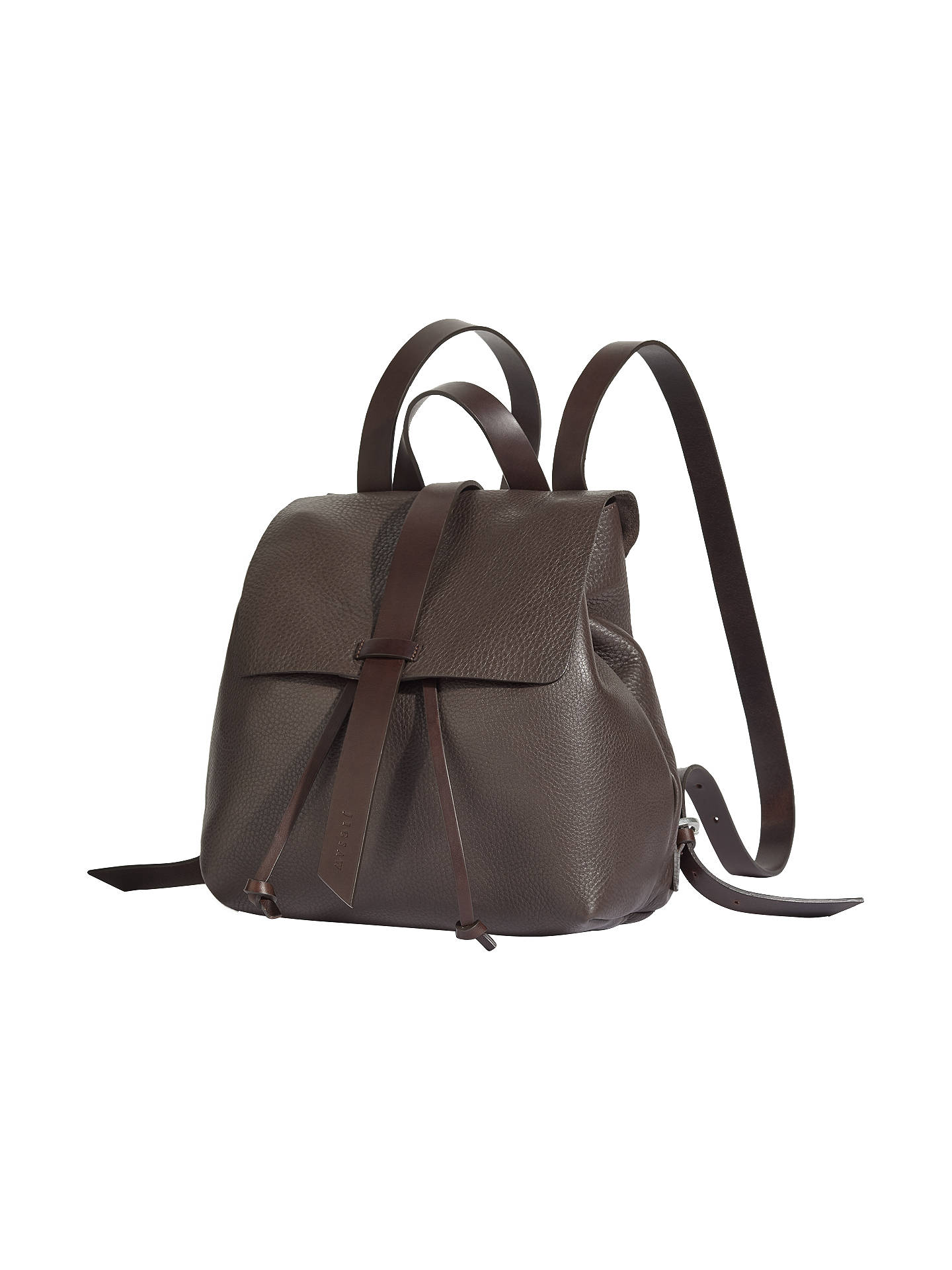 d9afc2b1d1 Jigsaw Blake Leather Backpack at John Lewis   Partners