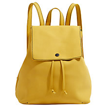 Buy Jigsaw Ruskin Rubber Leather Backpack Online at johnlewis.com