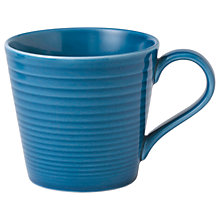 Buy Gordon Ramsay by Royal Doulton Maze Mug, 400ml, Denim Online at johnlewis.com