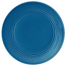 Buy Gordon Ramsey by Royal Doulton Maze Side Plate, 22cm, Denim Online at johnlewis.com