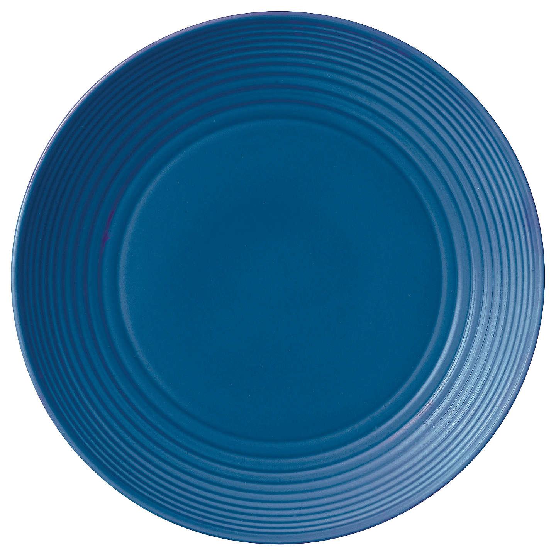 Gordon Ramsay by Royal Doulton Maze Dinner Plate, 28cm, Denim at ...