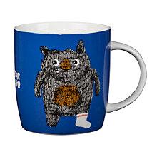 Buy John Lewis Moz The Monster China Mug, 350ml Online at johnlewis.com