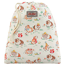Buy Cath Kids Children's Pet Party Drawstring Wash Bag, Cream Online at johnlewis.com