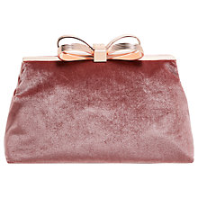 Buy Ted Baker Cena Bow Evening Clutch Bag Online at johnlewis.com