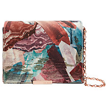 Buy Ted Baker Candis Mirrored Minerals Evening Bag, Multi Online at johnlewis.com