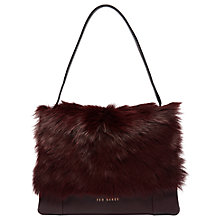 Buy Ted Baker Fluffi Searling Medium Shoulder Bag Online at johnlewis.com