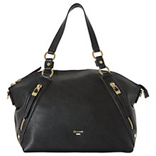 Buy Dune Donald Large Slouch Shoulder Bag, Black Online at johnlewis.com