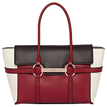 Buy Fiorelli Barbican Large Flapover Colour Block Tote Bag Online at johnlewis.com