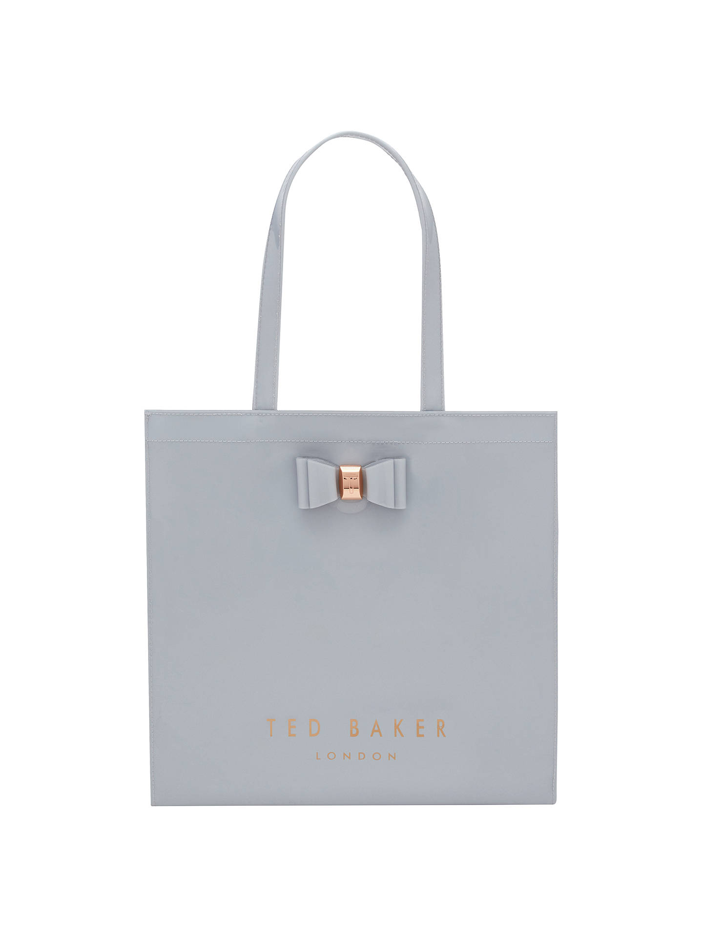 26b7c0bb0 Ted Baker Bethcon Bow Large Icon Shopper Bag at John Lewis   Partners